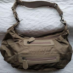 Sondra Robert's  - Small Olive color satchel.